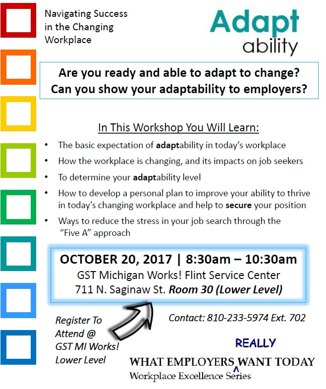 adaptability workplace excellence workshop